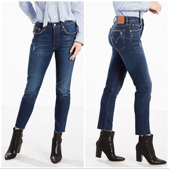 9fa1311f Levi's Jeans | Nwt Levis 501 Stretch Skinny Dark 24 25 26 | Poshmark